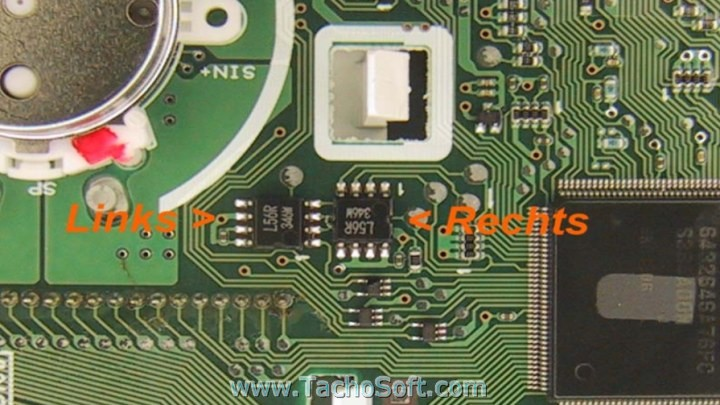 Subaru Legacy spedometer calibration pics - odometer SUBARU